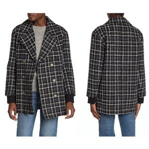 NWT Dolce Cabo Tweed Double Breasted Jacket